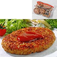 【冷凍】やわらかディッシュハンバーグ 120G 10食入 (株式会社ニチレイフーズ/ハンバーグ)