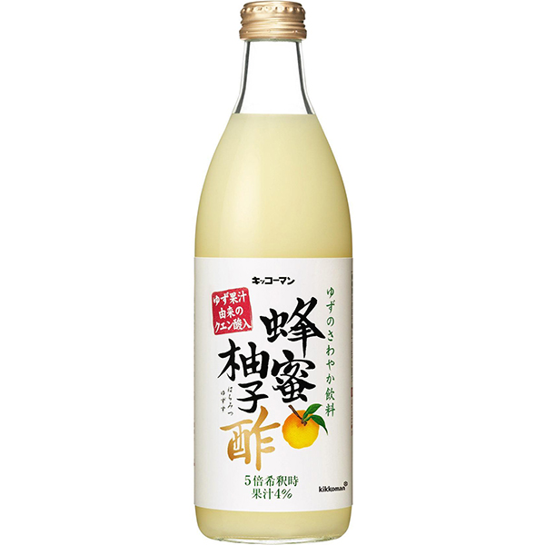 【常温】蜂蜜柚子酢 500ML (キッコーマン食品/酢/その他酢)