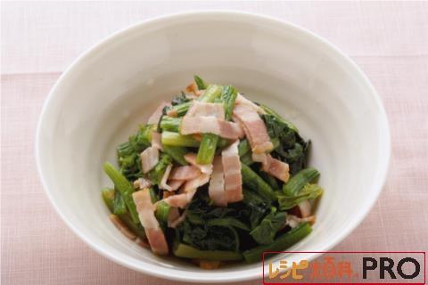 【常温・冷凍】レシピ/ほうれん草の洋風おひたし