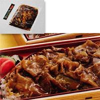 【冷凍】NEWイベリコ豚重の具 105G 5食入 (日東ベスト株式会社/和風調理品/豚肉)