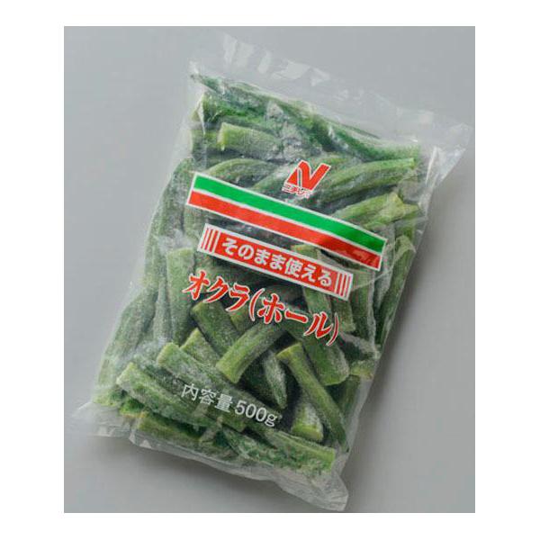 【常温・冷凍】レシピ/おくらとアスパラのピリ辛照り煮