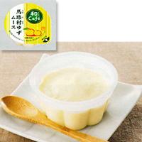 【冷凍】和cafe 馬路村ゆずムース 40G 20食入 (マルハニチロ/洋風デザート/ムース)