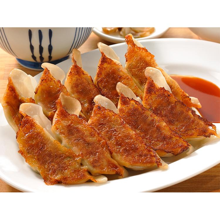 【冷凍】デリカ焼ギョーザ(焼調理済) 約23G 10食入 (味の素冷凍食品/中華調理品/餃子)