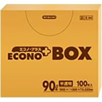 E-94 エコノプラスBOX半透明 0.02mm  90L
