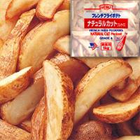 【冷凍】ナチュラルカットポテト 1KG