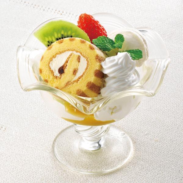 【冷凍】PSロールケーキ(カスタード) 200G (テーブルマーク/冷凍ケーキ/フリーカットケーキ)