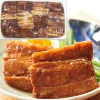 【冷凍】楽らく匠味 パック入豚角煮醤油 1KG (株式会社大冷/和風調理品/豚肉)