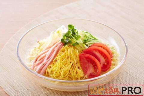 【常温・冷凍】レシピ/さっぱりうま塩だれの冷やし中華