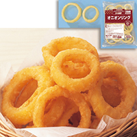 【冷凍】オニオンリング 500G (味の素冷凍食品/洋風調理品/フライ)