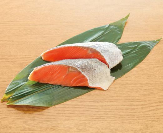 【冷凍】SPC茶あらい骨なし秋鮭切身 60G 5食入 (マルハニチロ/魚/骨なし切り身)