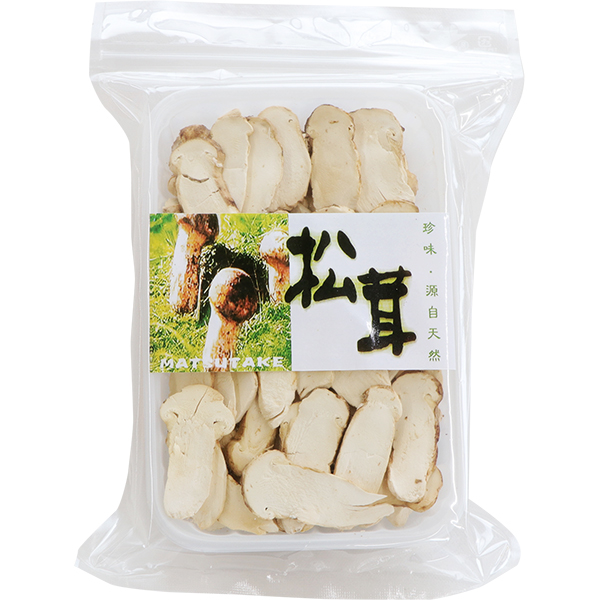 【冷蔵】FD松茸A1 スライス(5〜8�) 30G