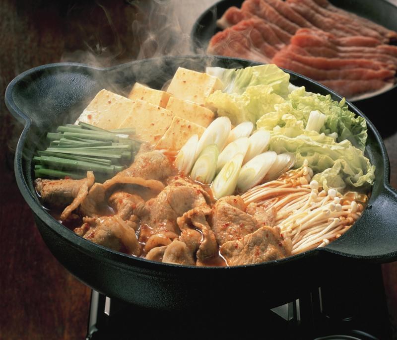 【常温】キムチ鍋の素 1L (エバラ食品工業/和風つゆ/鍋つゆ)