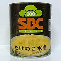 【常温】麻筍スライス (タイ産) 1号缶 (丸京/農産加工品【常温】/たけのこ)