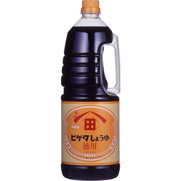 【常温】こい口徳用醤油(ペットボトル) 1.8L (ヒゲタ醤油/醤油/ハンディタイプ)