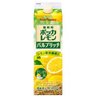 【常温】業務用 ポッカレモン パルプリッチ 1L (ポッカサッポロフード&ビバレッジ株式会社/果汁飲料)