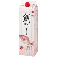 【常温】鯛だし 1.8L (株式会社創味食品/和風調味料/だし)