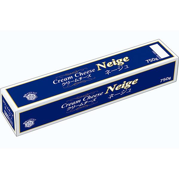 【冷蔵】雪印クリームチーズ ネージュ 750G (雪印メグミルク株式会社/チーズ/クリームチーズ)