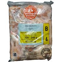 【冷凍】ブラジル産鶏もも正肉220/240 2KG