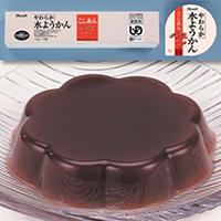 【冷凍】やわらか水ようかん(こしあん) 40G 10食入 (株式会社フレック/和風デザート)