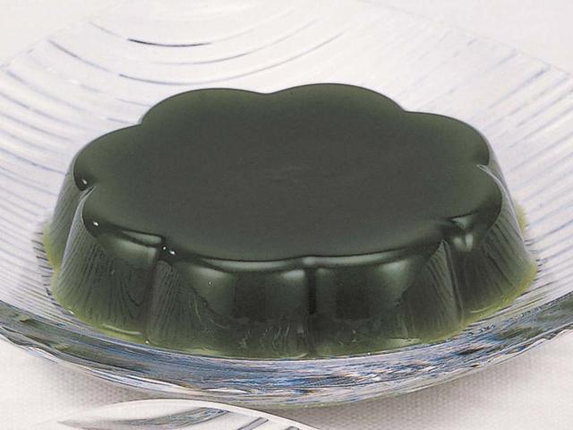 【冷凍】やわらか水ようかん(抹茶) 40G 10食入 (株式会社フレック/和風デザート)