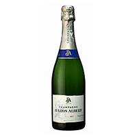 【冷蔵】バロン・アルベール) シャンパーニュ・ブリュット・トラディション 750ML (/スパークリングワイン)