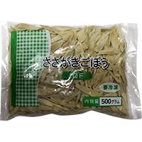 【冷凍】中国産ささがきごぼうIQF 500G