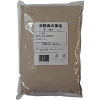 【常温】淡路島の藻塩(茶) 1KG (多田フィロソフィ/塩)