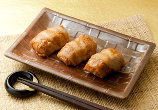 【冷凍】肉巻おにぎり 40G (株式会社ポストごはんの里/和風調理品/ご飯物)