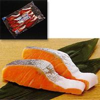 【冷凍】茶洗い骨なし銀鮭切身 70G 10食入 (マルハニチロ/魚/骨なし切り身)