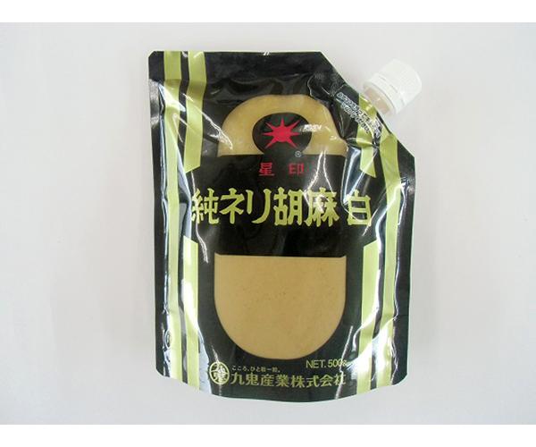【常温】純ねり胡麻SP(白) 500G (九鬼産業/農産加工品【常温】/その他)
