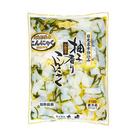 【冷蔵】LLチルド 柚子香りこんにゃく 1KG (太堀/惣菜)