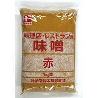 【常温】料理店 味噌(赤) 1KG (ハナマルキ株式会社/味噌/赤味噌)
