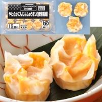 【冷凍】やわらかにんじんしゅうまい(食物繊維) 15G 15食入 (味の素冷凍食品/中華調理品/シュウマイ)