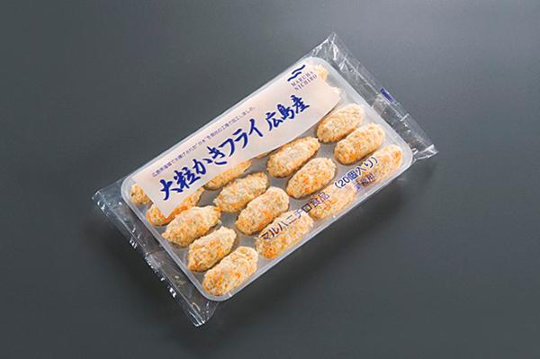 【冷凍】大粒カキフライ(至高カラーパン粉) 800G (マルハニチロ/洋風調理品/フライ)