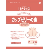 【常温】業務用 カップゼリー ピーチ(3L用) 600G (伊那食品工業/デザートの素)