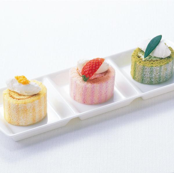 【冷凍】PSロールケーキ(いちご) 200G (テーブルマーク/冷凍ケーキ/フリーカットケーキ)