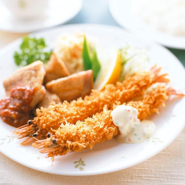【冷凍】有頭まるごとエビフライ(BT) 特大 10尾入 (テーブルマーク/洋風調理品/フライ)