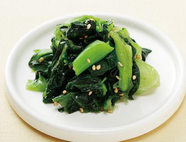 【冷凍】中国産 ちんげん菜カット IQF  500G (神栄株式会社/農産加工品【冷凍】/葉菜類)