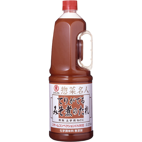 【常温】てりがでるみそ煮のたれ 2.25KG (ヒガシマル醤油株式会社/和風調味料/たれ)