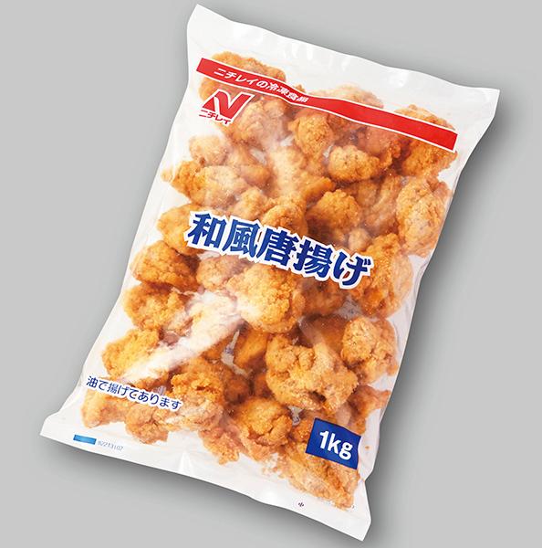 【冷凍】和風鶏唐揚げ 1KG (株式会社ニチレイフーズ/鶏加工品/唐揚)