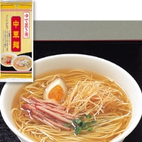 【常温】ゆで置き中華麺 400G (池島フーズ/中華麺)