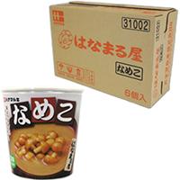 【常温】はなまる屋 カップなめこ 6食入 6食入 (ハナマルキ株式会社/味噌汁)