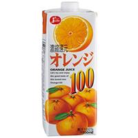【常温】JCオレンジ100%  1L (株式会社ジューシー/果汁飲料)