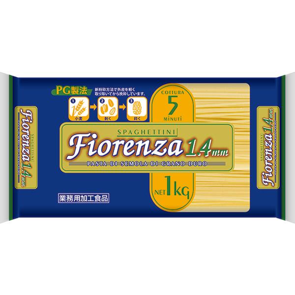 【常温】フィオレンツァ) スパゲティ 1.4mm  1KG