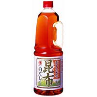 【常温】割烹関西昆布白だしつゆ 1.8L (ヒガシマル醤油株式会社/和風調味料/だし)