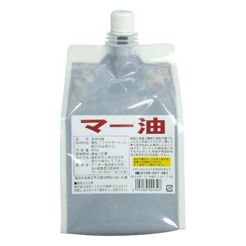 【常温】マー油(焦がしにんにく油) 800G