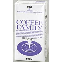 【常温】富士コーヒー ファミリーマイルド 500ML (守山乳業株式会社/生クリーム)