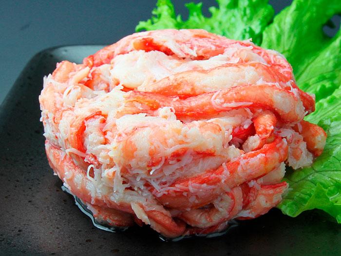 【常温】紅ずわいがに 赤身脚肉 125G (マルヤ水産株式会社/缶詰・ビン詰)
