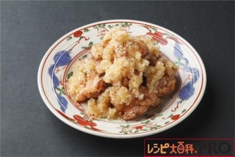 【常温・冷凍】レシピ/鶏の竜田揚げ ねぎポンおろし