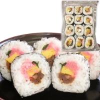 【冷凍】冷凍巻寿司12巻カット 28G 12食入 (株式会社ポストごはんの里/和風調理品/ご飯物)